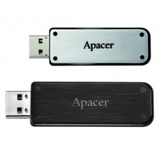 Apacer AH325 แฟลชไดร์ฟ 16GB สีดำด้าน และ สีโครเมี่ยม สีบรอนด์เงิน