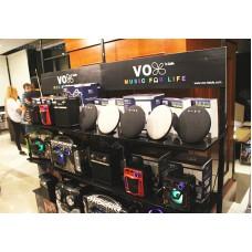 VOX VT1000 บลูทูธ 4.2 รวดเร็ว ลำโพงพกพา รูปทรงยานอวกาศ จานบิน เสียงแน่น สดใส สมจริง