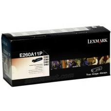 Lexmark E260A11P ตลับหมึกโทนเนอร์แท้ Original ประกันศูนย์