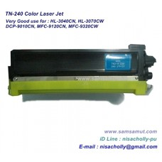 TN-240 BK/C/M/Y ตลับหมึกเทียบเท่า สำหรับ Brother