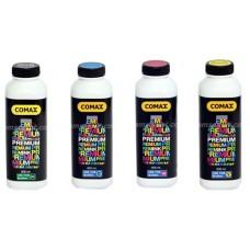 COMAX น้ำหมึกเติม Brother ขนาด 500 ml. สีดำ สีฟ้า สีแดง สีเหลือง เติมอิงค์แทงค์ งานพิมพ์ดีมาก