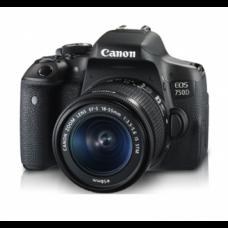กล้อง DSLR Canon EOS 750D พร้อมเลนส์ Kit EFS 18-55mm IS STM 24.2 ล้านพิกเซล มี WiFi