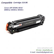 ตลับหมึกโทนเนอร์คุณภาพดี Cart316 BK สีดำ สำหรับ Canon