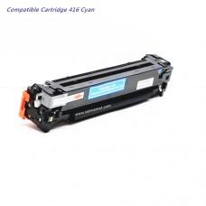 หมึกเทียบเท่า Canon Cart-416 C สีฟ้า สำหรับ Canon