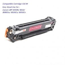 หมึกเทียบเท่า Canon Cartridge 416 M สีแดง  สำหรับ Canon
