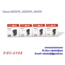 ตลับหมึก Canon PGI-2700PBk PGI-2700C/M/Y Ink Tank