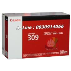 ตลับหมึกโทนเนอร์แท้ Original Canon Cartridge 309 BK สีดำ