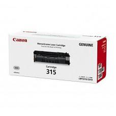 ตลับหมึกโทนเนอร์แท้ Original Canon Cartridge 315 BK ผงหมึกสีดำ