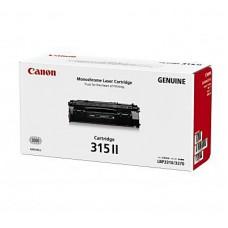 ตลับหมึกโทนเนอร์แท้ Original Canon Cartridge 315II BK ผงหมึกสีดำ