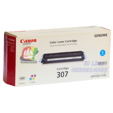 Canon Cartridge 307 C ผงหมึกสีฟ้า ตลับหมึกโทเนอร์แท้ Original
