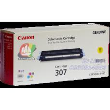 Canon Cartridge 307 Y ผงหมึกสีเหลือง ตลับหมึกโทเนอร์แท้ Original
