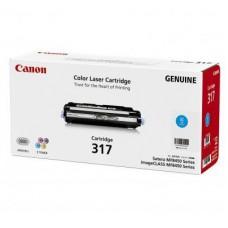 ตลับหมึกโทเนอร์แท้ Original Canon Cartridge 317 C ผงหมึกสีฟ้า