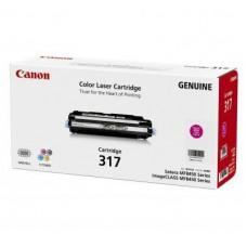 ตลับหมึกโทเนอร์แท้ Original Canon Cartridge 317 M ผงหมึกสีแดง