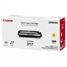 ตลับหมึกโทเนอร์แท้ Original Canon Cartridge 317 Y ผงหมึกสีเหลือง