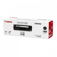 ตลับหมึกโทเนอร์แท้ Original Canon Cartridge 318 BK ผงหมึกสีดำ