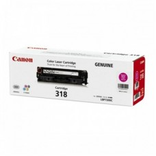ตลับหมึกโทเนอร์แท้ Original Canon Cartridge 318 M ผงหมึกสีแดง