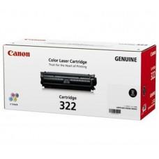 ตลับหมึกโทเนอร์แท้ Original Canon Cartridge 322 BK ผงหมึกสีดำ