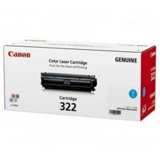 ตลับหมึกโทเนอร์แท้ Original Canon Cartridge 322 C ผงหมึกสีฟ้า