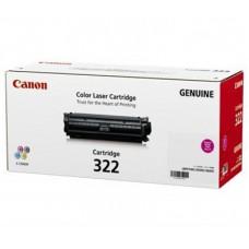 ตลับหมึกโทเนอร์แท้ Original Canon Cartridge 322 M ผงหมึกสีแดง