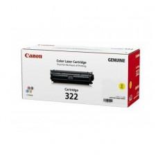 ตลับหมึกโทเนอร์แท้ Original Canon Cartridge 322 Y ผงหมึกสีเหลือง