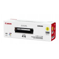 Canon Cartridge 416 Y ตลับหมึกโทนเนอร์แท้ สีเหลือง
