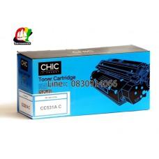 CC530A , CC531A , CC532A , CC533A Toner CHIC สำหรับมืออาชีพ หมึกเครื่องพิมพ์  CP2020 /CP2025 /CP2025n /CP2025dn /CP2025x