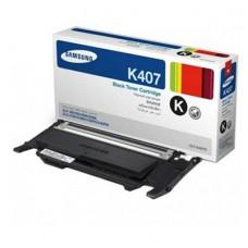 Samsung CLT-K407S ตลับหมึกโทนเนอร์แท้ สีดำ