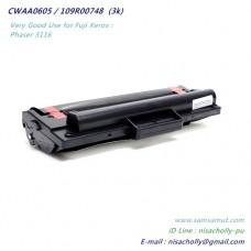 ตลับหมึก 109R00748/CWAA0605 ตลับหมึกเทียบเท่า สำหรับ Fuji Xerox