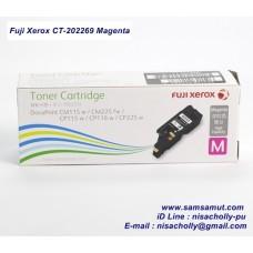ตลับหมึกแท้ Fuji Xerox CT202269 Magenta สีแดง (รับเพิ่ม 50 คะแนน)