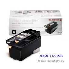 ตลับหมึกแท้ Fuji Xerox CT-201591 Black ( สีดำ ) สำหรับ 105B/CP205