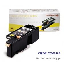 ตลับหมึกแท้ Fuji Xerox CT-201594 Yellow  ( สีเหลือง ) สำหรับ 105B/CP205